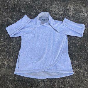 Athleta Cozy Karma Asym Pullover Sweatshirt XL